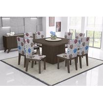 Jogo De Mesa Acácia Sala De Jantar Com 8 Cadeiras