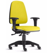 Cadeira Ergonomica Back System Sky Espaldar Alto C/ Braços