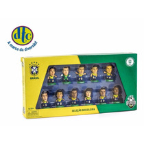 Jogadores Da Seleção Brasileira Dtc - Kit C/11 Bonecos