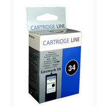 Cartucho Lexmark 18c0034 34 Preto X2550 Cartridge Line