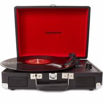 Toca Discos Vitrola Antiga Vintage Crosley + Brindes