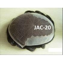 Jac-20 Protese Capilar Tela Com Silicone Jachair