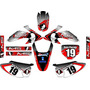 Kit Adesivos Grafico Moto Crf 230 Ano 2015 Crfmd07 Ims Red1
