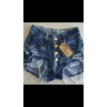 Shorts Hot Pants Amassadinho Engomado Cintura Alta Anitta
