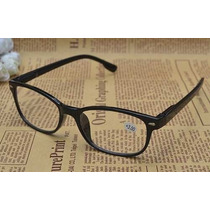 Armação Óculos Leitura Grau 1.50 Vintage Preto Muito Barato