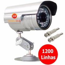 Câmera Ccd Infravermelho 36 Leds 1200 Linha Prova D