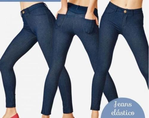 e4f108404 Calça Legging Jeans Demillus - R  94 en Melinterest