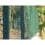 Tela De Alambrado Malha 80mm Fio 12 Pvc Verde Ou Azul