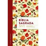 Bíblia Sagrada Nvt - Flores Letra Grande Capa Flexível