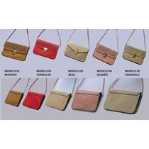 Bolsa Feminina Clutch Média - 5 Opções Modelo +meus Produtos