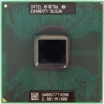 Processador Intel Mobile Dual Core T4200 2.00/1m/800 Slgjn