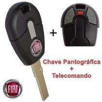Chave Fiat Controle Telecomando Original Positron Até 2012