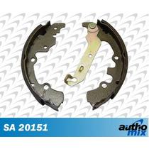 Sapata Lona Freio Ford Fiesta Clx 1.4 16v Autho Mix Sa20151