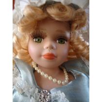 Boneca Porcelana - 30 Cm - Importada