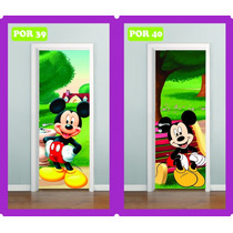 Adesivo Infantil P/ Portas Mickey Mouse