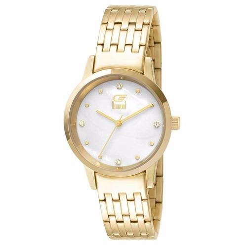 Relógio Dumont Slim Du2036ltx 4d Dourado fefa83e5b9
