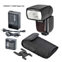 Speedlite Godox/greika V 850 C/ Bateria P/ Canon, Nikon Etc