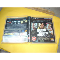 Ps3 Playstation 3 Gta Iv 4 Complete Original