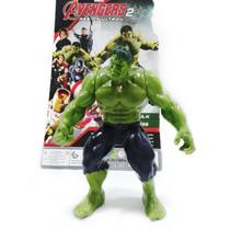 Boneco Incrivel Hulk Avengers Vingadores C Luz Tamanho 15cm