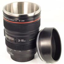 Copo Caneca Termica Lente Canon 24-105mm - Camera Digital