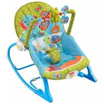 Cadeirinha Descanso Fisher Price Balanço Musical Bebe Infant