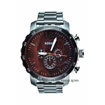 Garantia De 2 Anos + Nf + Brinde Fóssil Relógio Jr1355z.