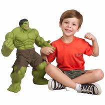 Boneco Gigante Incrível Hulk Verde Premium 0457 Mimo Marvel