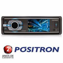 Dvd Positron 3 Sp4330bt Bluetooth Mp3 Usb Viva Voz Micro Sd