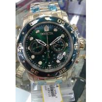 Relógio Invicta 21925/antigo 0075 Prodiver Ouro 18k Original