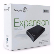 Hd Externo 2tb (2000gb) Expansion Seagate, Usb, 3.5