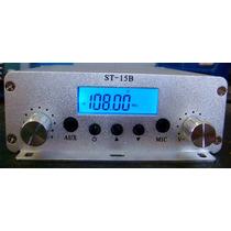 Transmissor De Fm 15 W Stereo-frete Grátis