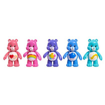 Kit Mini Figuras Dos Ursinhos Carinhosos - Inclui 5 Ursinhos