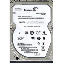 1185 - Hd Notebook 500 Gb Especial Da Marca Seagate