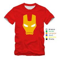 Camisa Personalizada Homem De Ferro