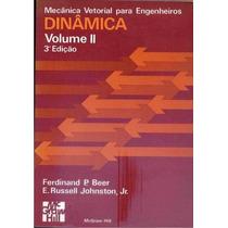 Livro Mecânica Vetorial Para Engenheiros Dinâmica Volume Ii