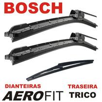 Kit Par Palhetas Dianteira Aerofit Bosch Traseira Trico Ix35
