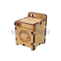Miniatura Maquina De Lavar Roupas 4,5x3x3