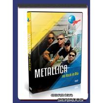 Combo Dvd Cpm, Metallica, Slipknot,faith No More Rock In Rio
