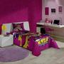 Kit Infantil Barbie 03 Peças Jogo De Cama+toalha De Banho!