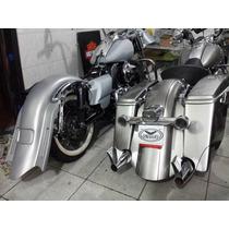 Alforges Alongados Paralama Estendido Harley Davidson Bagger