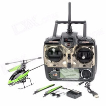 Hélicoptero Wltoys V911-1, 2.4g 4-ch New Plug Radio Controle