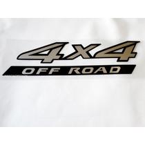 Emblema Adesivo 4x4 Off Road Nissan Frontier 2010 Em Diante