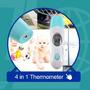 Termômetro Digital Infravermelho Ouvido Testa Bebe Infantil