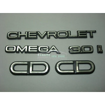 Kit Emblema Omega + Chevrolet + 3.0i + Cd (ke01)