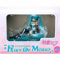 Vocaloid Fairy Of Music Hatsune Miku Figura Sega Original
