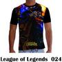 Camisa Camiseta Games League Of Legends Lol 024