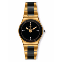 Relógio Swatch Pearl Black Ylg124g
