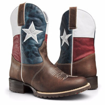 Bota Texana Montaria Texas Rodeo Country Western Ref.: 4040
