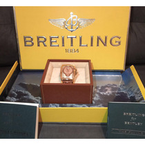 Breitling Ouro Rosa Completo Muito Novo Troco Rolex , Hublot