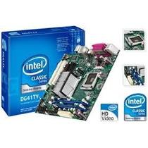 Placa Mãe Intel Dg41ty Sqt 775 Ddr 2 - Pentium Até 3.6 Ghz